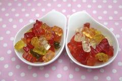 Orsacchiotti di gelatina Fotografie Stock Libere da Diritti