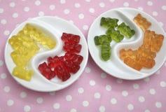 Orsacchiotti di gelatina Fotografia Stock Libera da Diritti