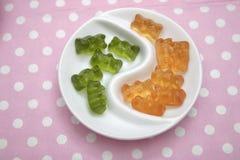 Orsacchiotti di gelatina Immagini Stock