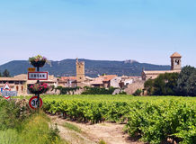 Orsan, french typical village Stock Photo