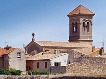 Orsan, french typical village. Orsan is one of the the typical charm villages of the south of France - serene, sunny and calm, this is an excellent base to relax Stock Photo