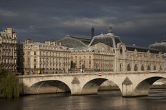 Orsay Art Museum, Paris Stock Image