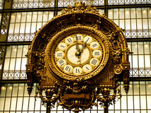 Orsay clock. Clock at the musee d'orsay Stock Image