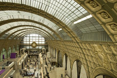 orsay D musee Obrazy Royalty Free