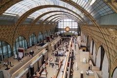 orsay D-musee Royaltyfri Fotografi