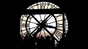 Orsay. Inside the clock Stock Images