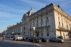 Orsay Museum in the Afternoon Stock Images