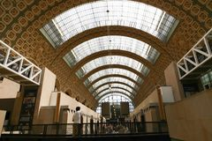 Orsay Museum Stock Photo