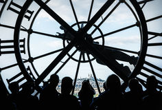Orsay Museum clock Stock Photos