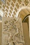 Orsay Museum. Closeup of the Clock. Paris Stock Photos