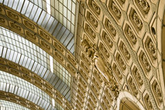 Orsay Museum. Gallery detail. Paris Royalty Free Stock Photo
