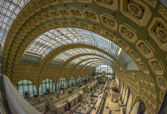 Orsay Museum interior Stock Photography