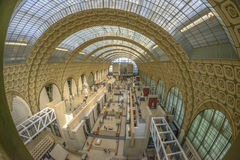 Orsay Museum interior Royalty Free Stock Images