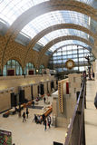 Orsay museum - paris Arkivbild