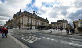 Orsay Museum in Paris Stock Photo