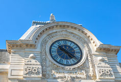 Orsay Museum in Paris Stock Photos