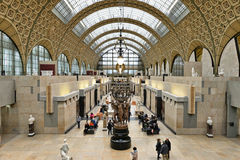 Orsay Museum in Paris Royalty Free Stock Images