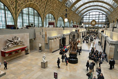 Orsay Museum in Paris Stock Photo