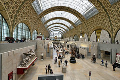 Orsay Museum in Paris royalty free stock photos