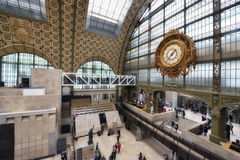 Orsay Museum in Paris Stock Photography