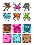orsi & giocattoli di orsacchiotto Immagine Stock Libera da Diritti