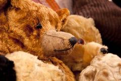 Orsi dell'oggetto d'antiquariato del giocattolo Fotografia Stock Libera da Diritti