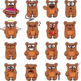 Orsi divertenti (1) Fotografia Stock