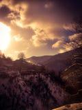 Orsigna-Landschaft Lizenzfreie Stockbilder