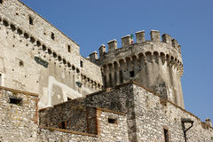Orsini castle in Nerola Stock Photography