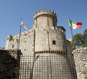 Orsini castle in Nerola Stock Photo