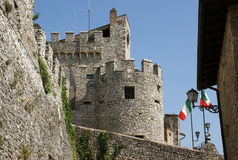 Orsini castle in Nerola Royalty Free Stock Photos