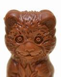 Orso del cioccolato immagini stock