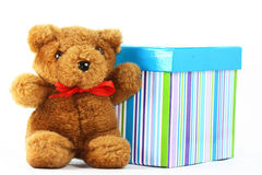 Orso dell'orsacchiotto Fotografie Stock Libere da Diritti
