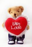 Orso dell'orsacchiotto con amore Immagini Stock