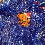 Orso dell'orsacchiotto di nuovo anno Immagini Stock Libere da Diritti