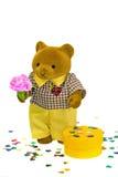 Orso dell'orsacchiotto nell'amore Immagine Stock