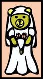 Orso della sposa Immagine Stock