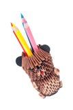 orso di 3D Origami Fotografia Stock Libera da Diritti