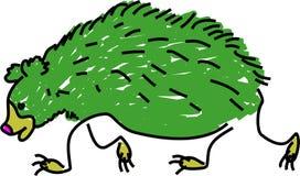 Orso di bradipo illustrazione di stock