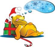 Orso di Natale Immagini Stock Libere da Diritti