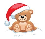 Orso di Natale Fotografie Stock