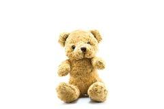 Orso di orsacchiotto lanuginoso Fotografia Stock