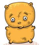 Orso di orsacchiotto vecchio triste Immagini Stock Libere da Diritti