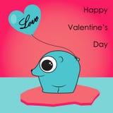 Orso di San Valentino Royalty Illustrazione gratis