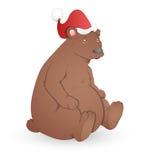 Orso - illustrazione di vettore di Natale Fotografia Stock Libera da Diritti
