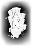 Orso polare royalty illustrazione gratis