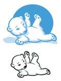 Orso polare Cub Fotografia Stock Libera da Diritti