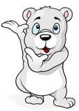 Orso polare sveglio Immagine Stock