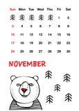 Orso rosso sveglio del naso fotografia stock libera da diritti