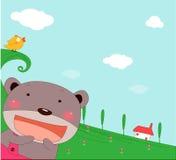 Orso sveglio Immagine Stock